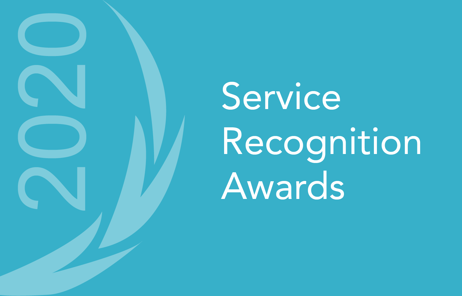 Service Recognition Awards 2020